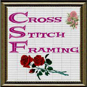 framing cross stitch