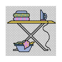 Washing and Ironing Cross Stitch
